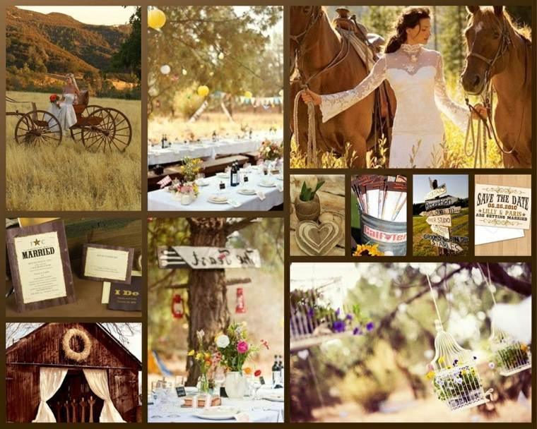 bonitas ideas boda campo