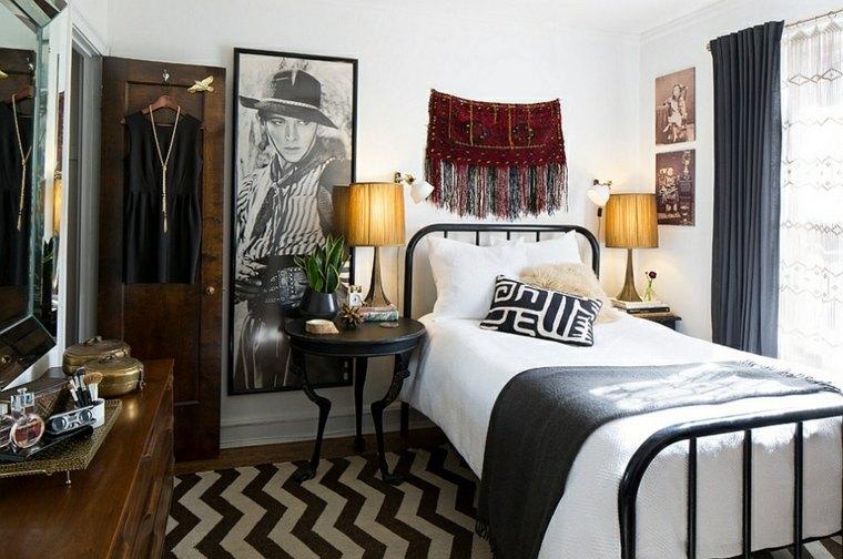 bonito cuarto decoración vintage