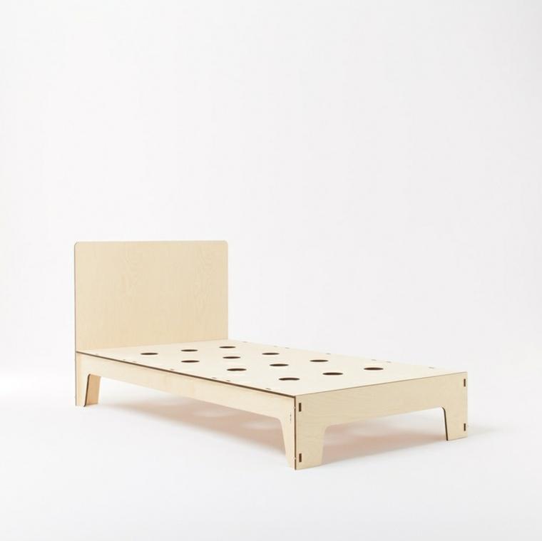 bonito diseño cama sencilla