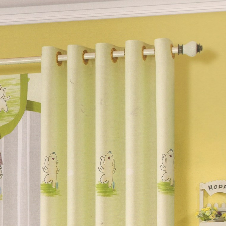 bonito diseño cortinas niños