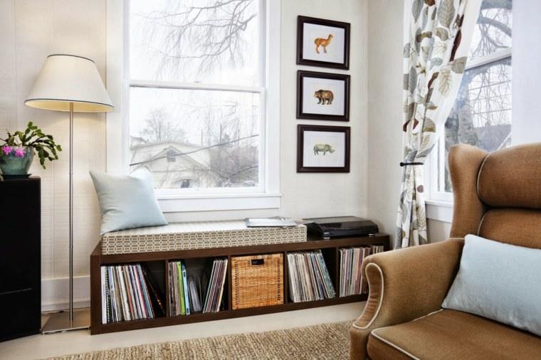 bonito diseño sala lectura
