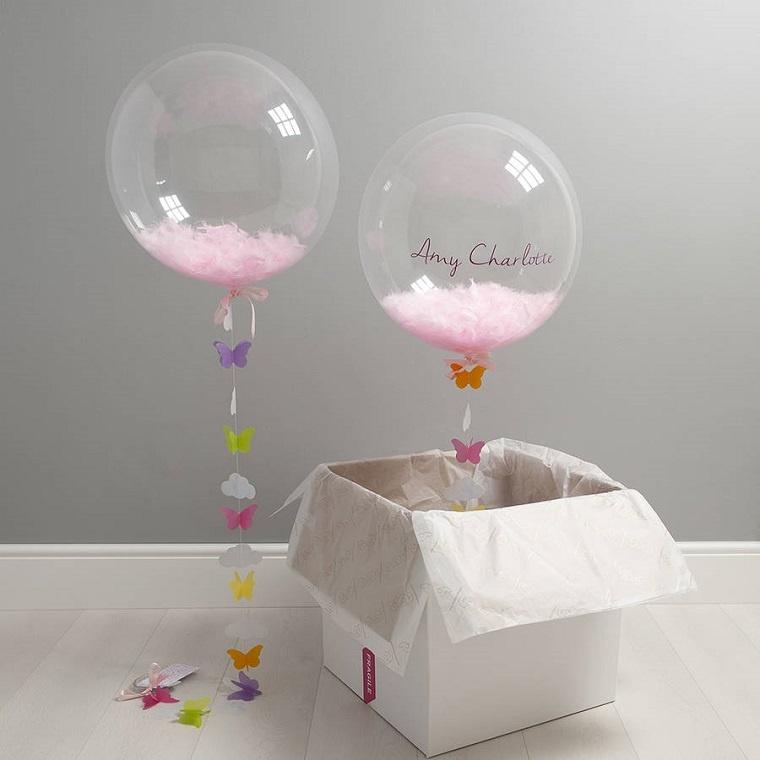 bonitos globos transparentes