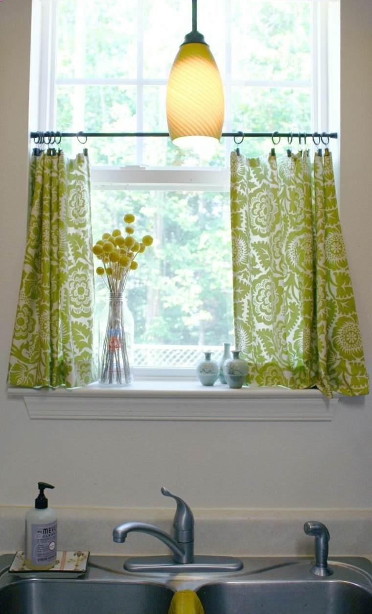 bonitas cortinas ventana pequena