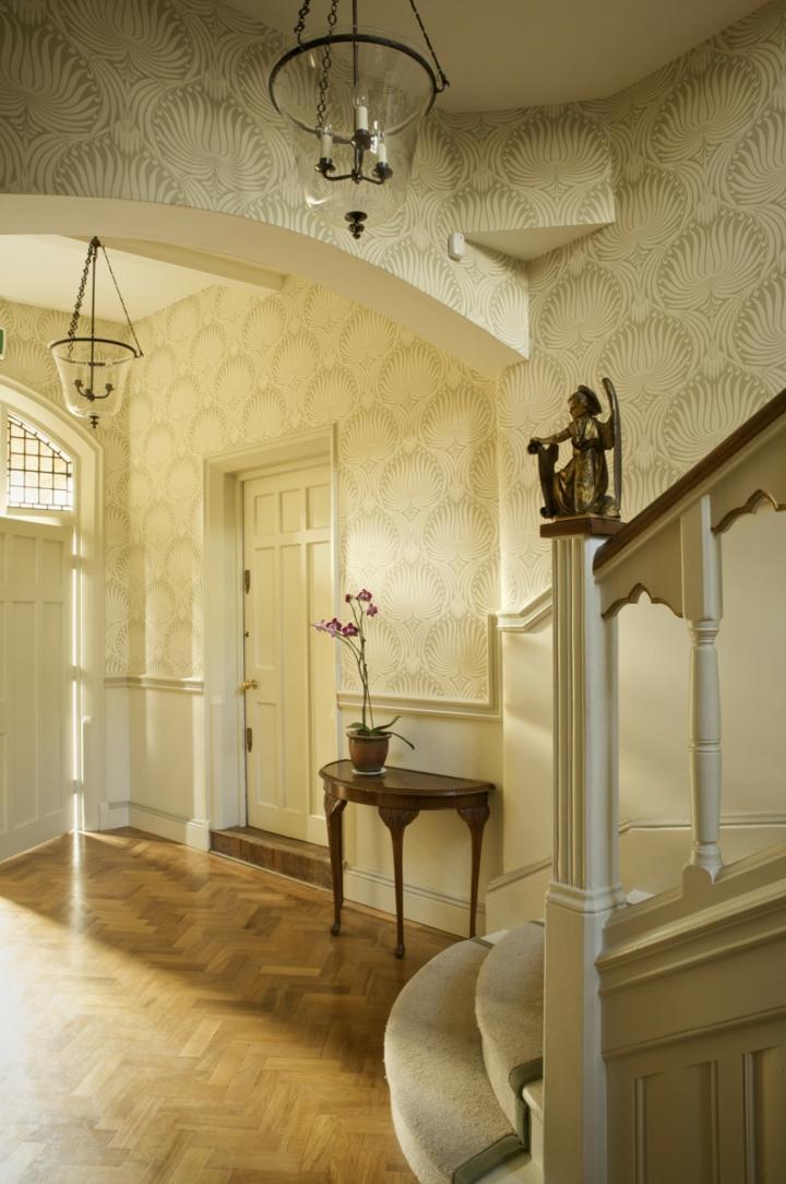 calidos espacios paredes muebles flores