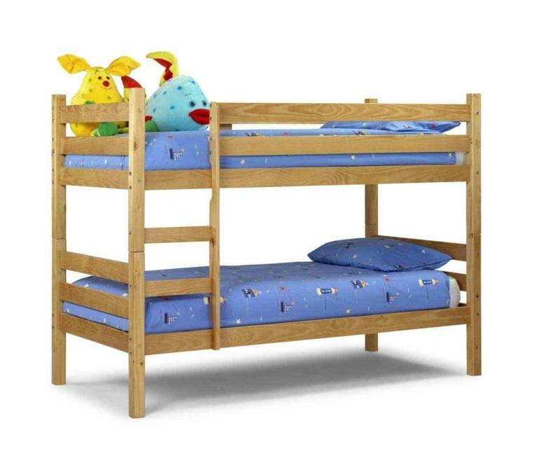 Dise os de camas para ni os en madera 24 im genes - Cama doble para ninos ...