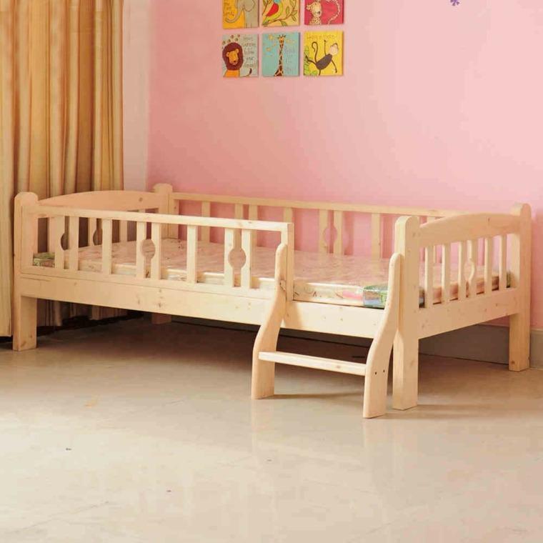 Proteger pared cama nios good fabulous with revista el for Cama diseno
