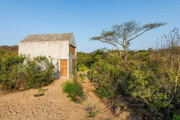 casas de hormigon casa tiny arquitectura ideas