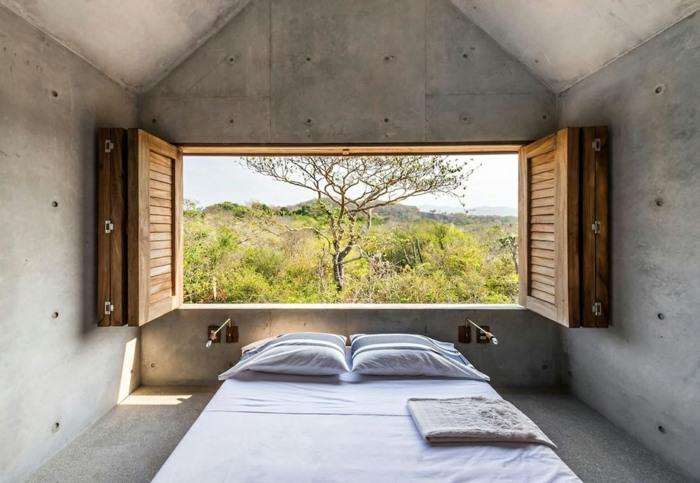 casa de hormigon casa tiny diseno dormitorio ideas