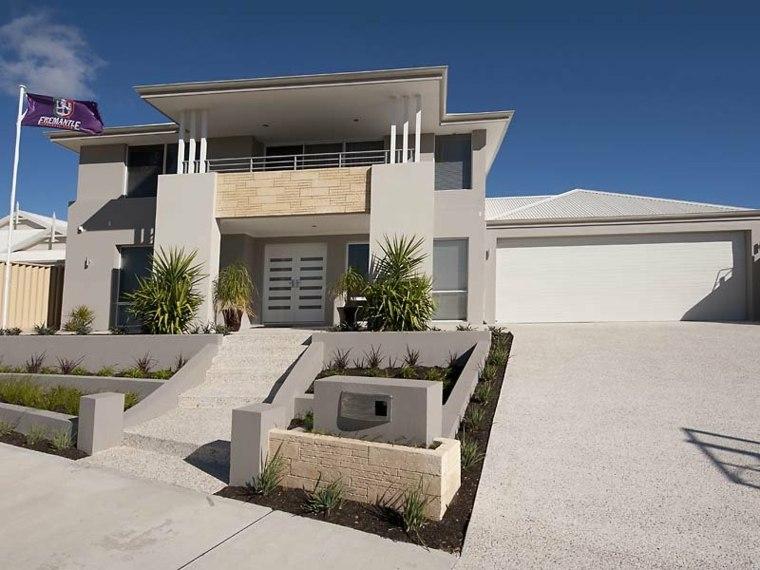 casa fachada diseño mdoerno