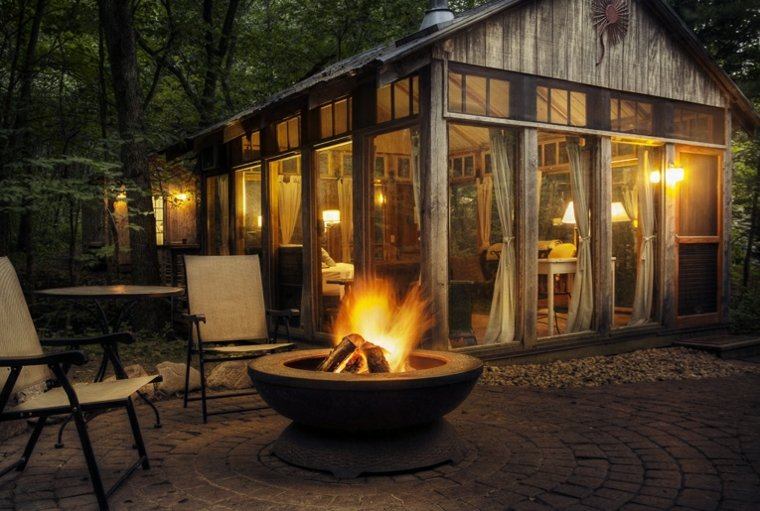 casa pequeña madera