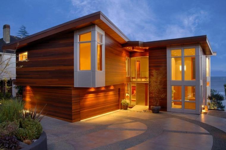 casa pequeña moderna elegante