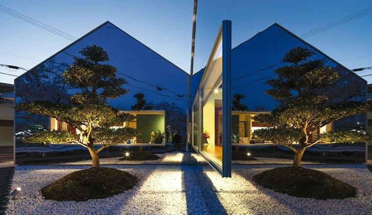 casa diseño moderno fachada