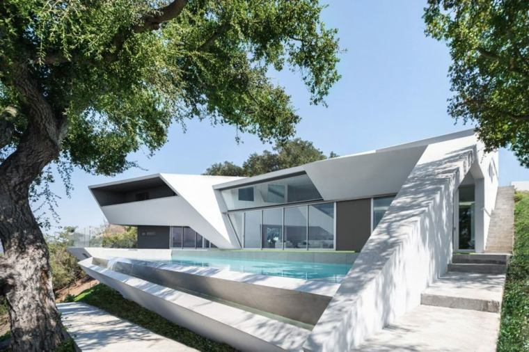 casa piscina diseño mdoerno