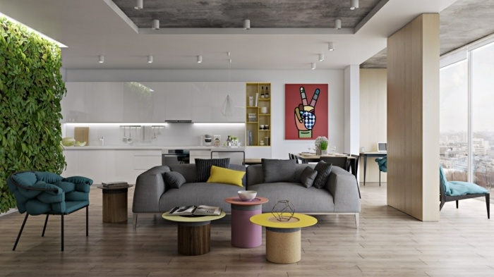 centro mesa especiale coloridas ideas circulares