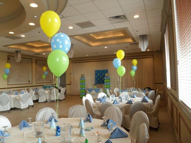 centro mesa globos decorar