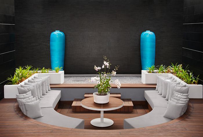 centro mesa propuesta baja muebles jarrones