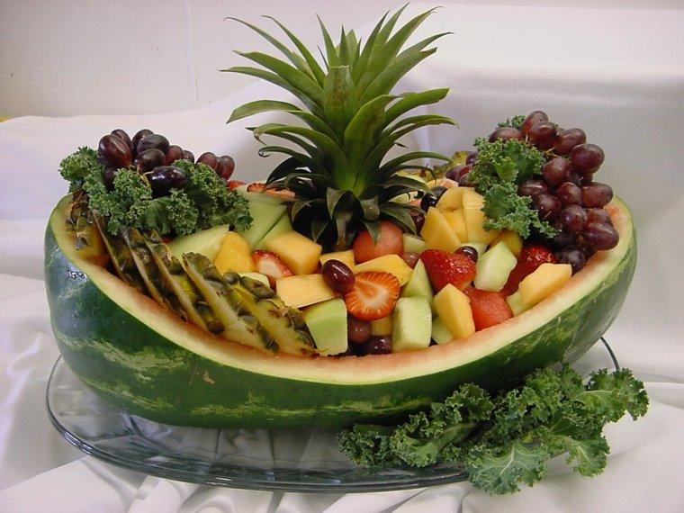 Centros De Frutas Para Decorar La Mesa Y El Interior - Centros-de-mesa-de-frutas