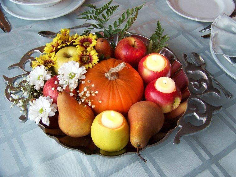 Centros de frutas para decorar la mesa y el interior for Secar frutas para decoracion