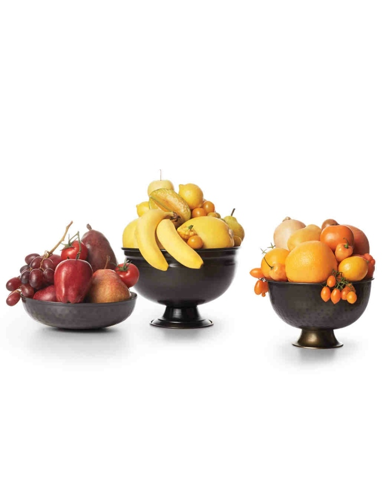 centros de frutas decorar