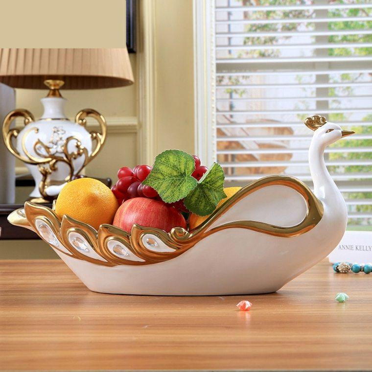 Centros de frutas para decorar la mesa y el interior - Decorar mesas de centro ...