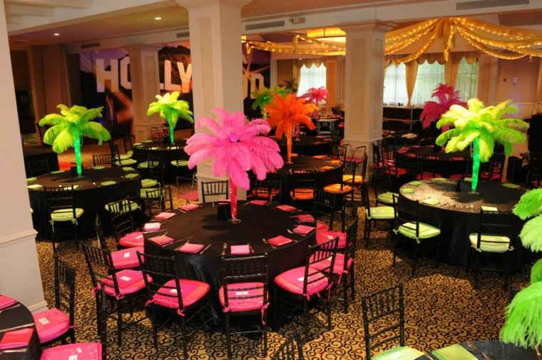 centros de mesa con globos decorar eventos