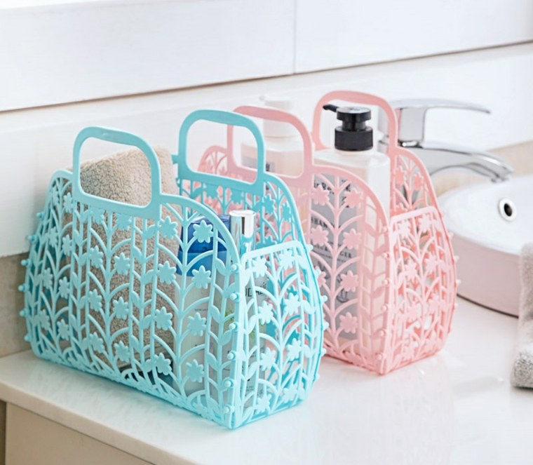 cesta baño decorar