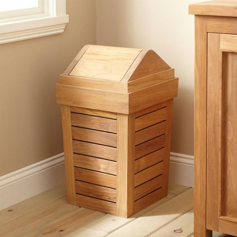 Cestas ba o para decorar y ordenar los interiores - Mueble ropa sucia ...