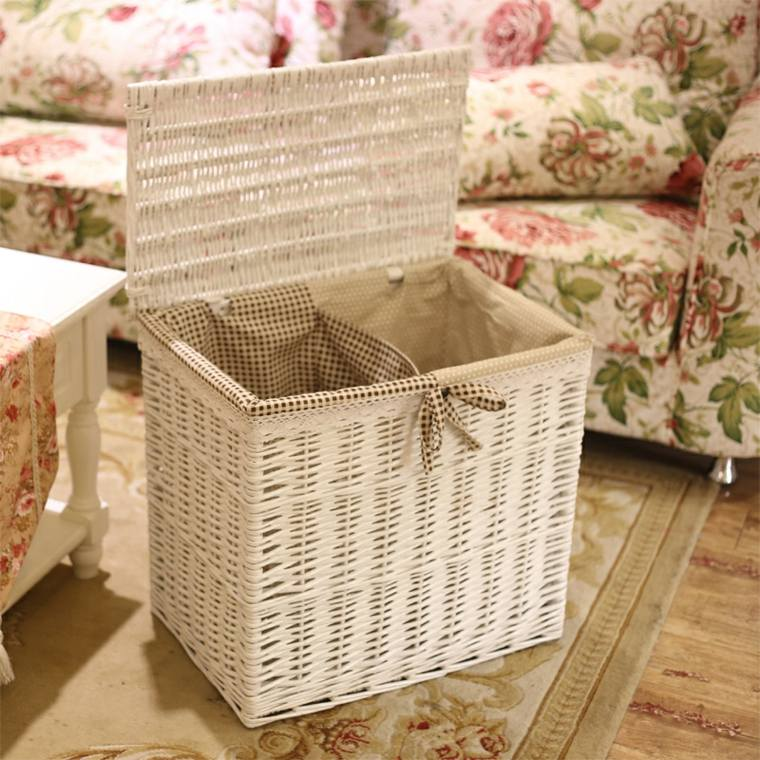 cestas baño decoración interior