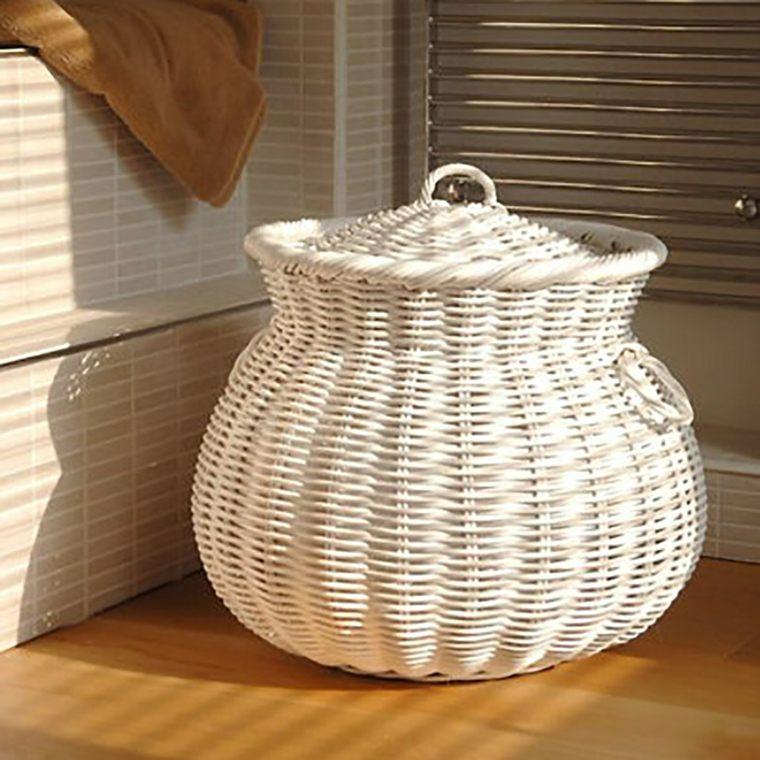 cestas baño decorar