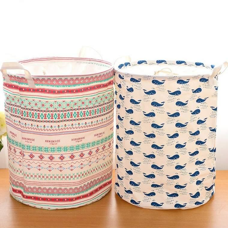 cestas de baño decorar