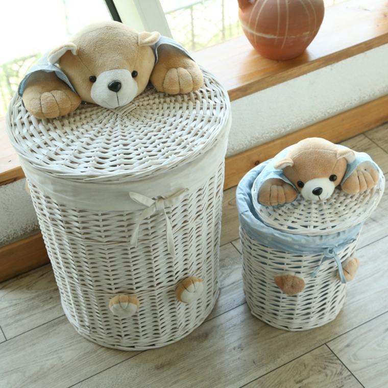 cestas para baño ordenar