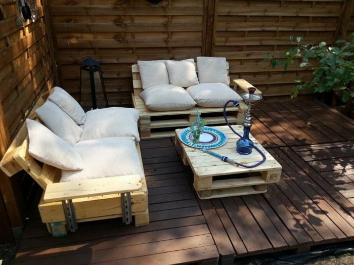chill out palets muebles espacio acogedor opciones ideas