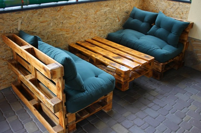 chill out palets muebles sofa mesita cafe ideas