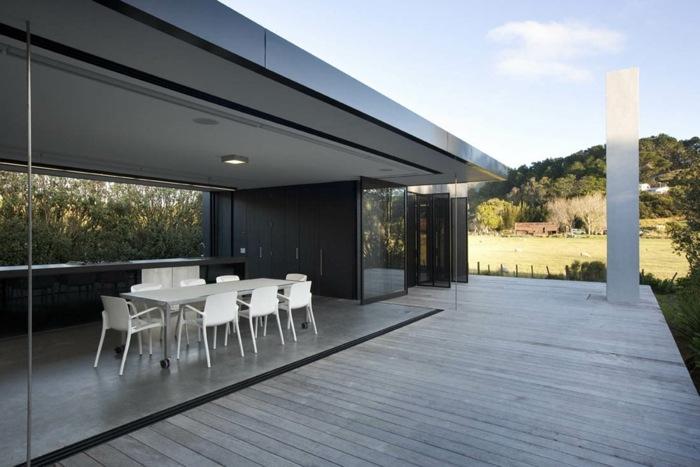 chimeneas arquitectura minimalista colores