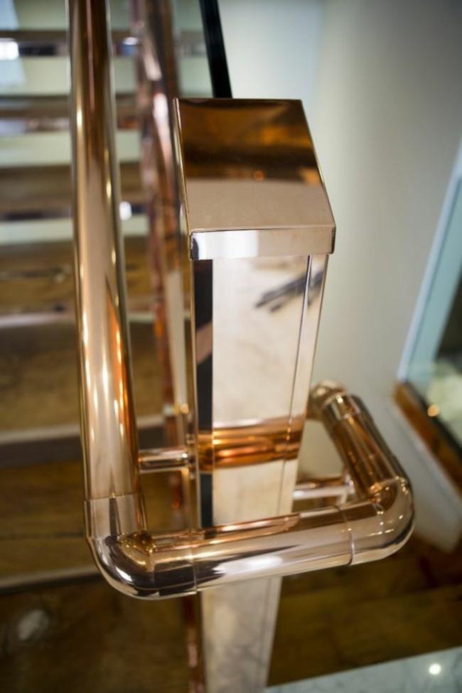 cobre pulido idea elegante partes