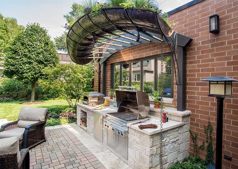 Dorable Cocinas Al Aire Libre Baratas Uk Bosquejo - Ideas de ...