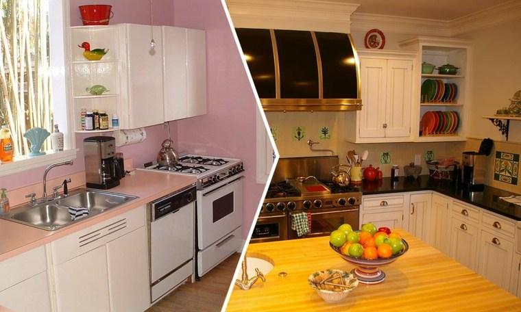 Cocinas reformadas antes y despu s del gran cambio for Cocinas viejas reformadas