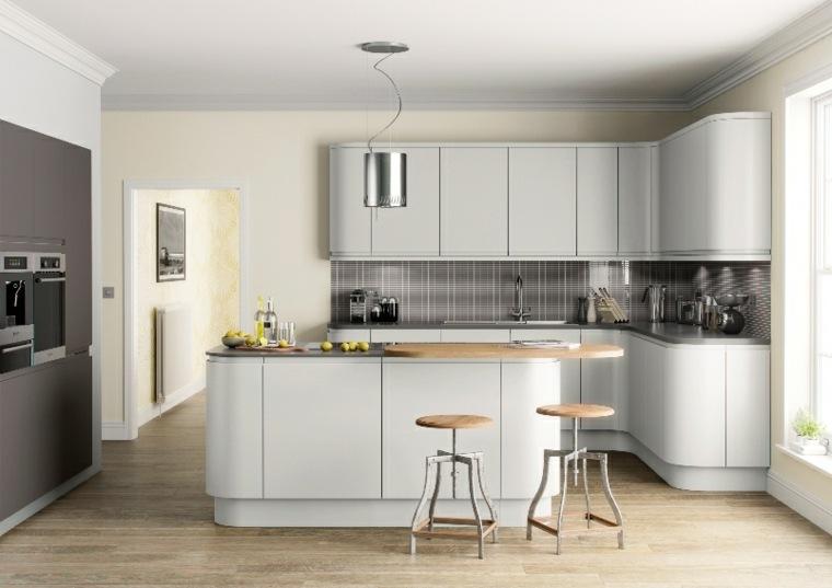 Cocinas modernas baratas para decorar los interiores