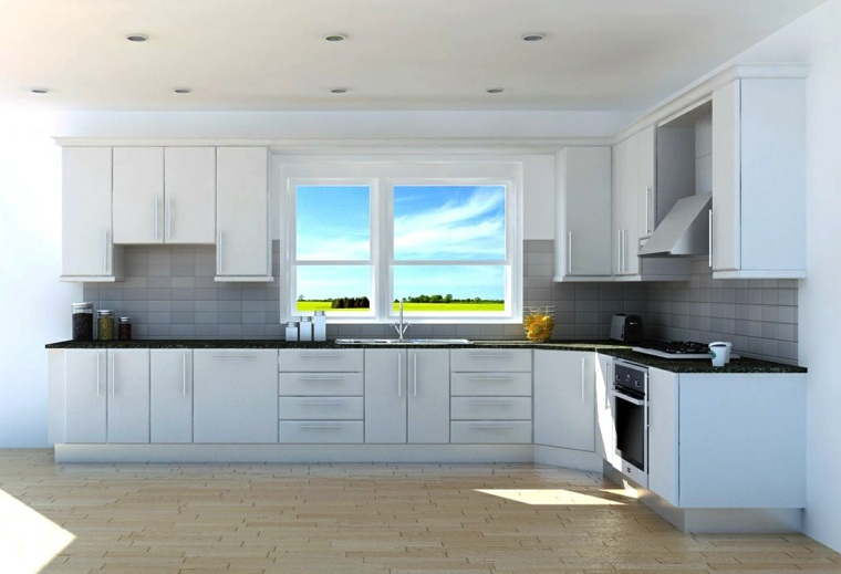 Cocinas modernas baratas para decorar los interiores for Interior cocinas modernas