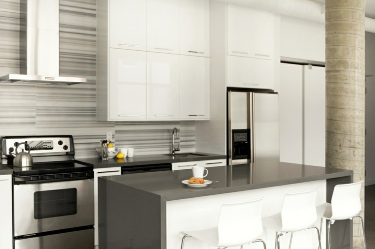 Cocinas modernas baratas para decorar los interiores - Cocinas ikea baratas ...