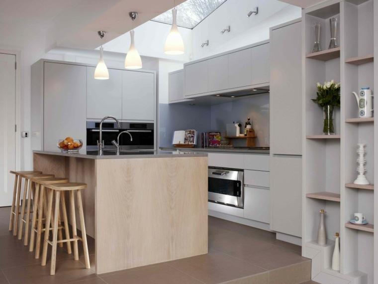 Cocinas modernas baratas para decorar los interiores - Casas de madera pequenas y baratas ...