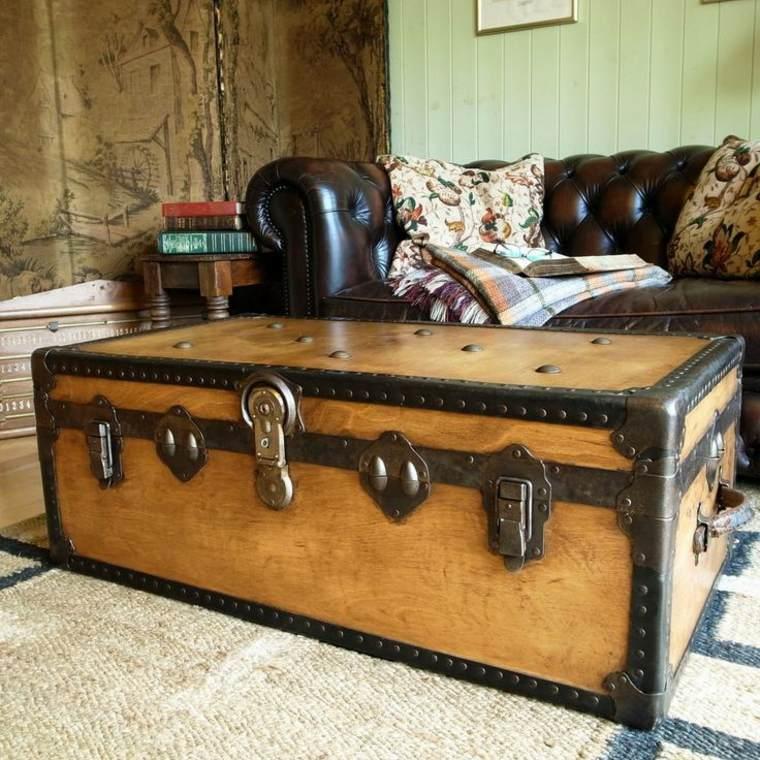 cofre vintage sofa chester