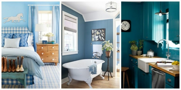 color azul agua marina decorar