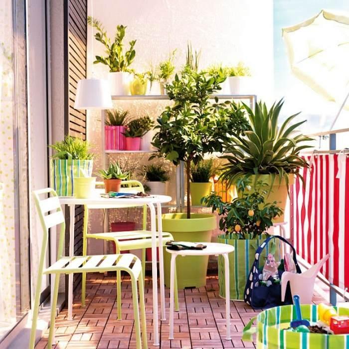 colorido fresco interesante espacio sombrillas