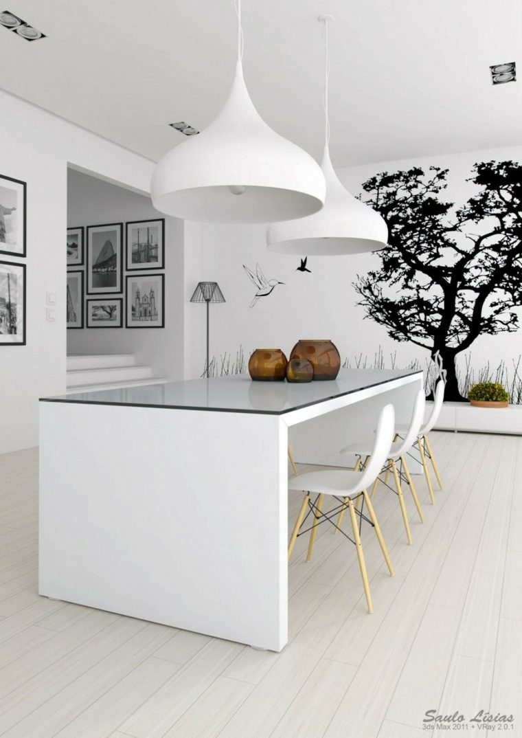 comedor diseño moderno minimal