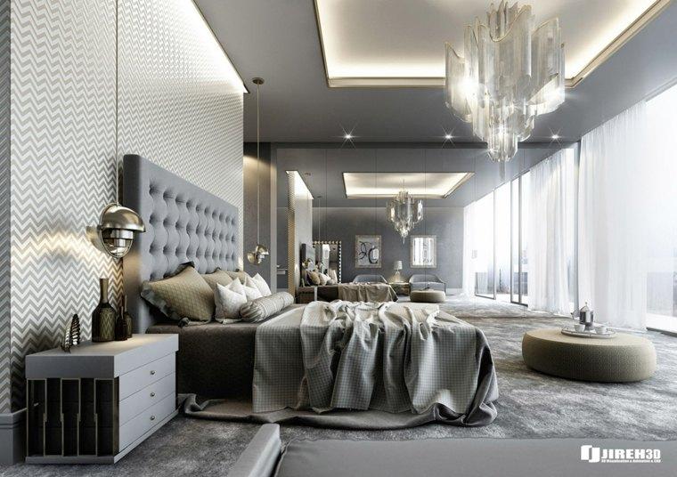 como decorar mi habitacion color gris