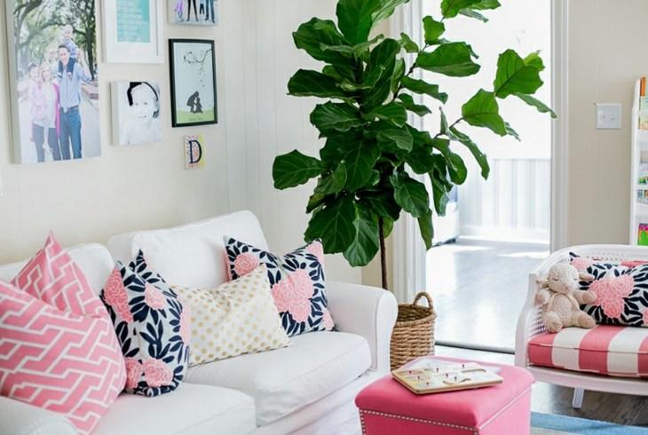 como decorar mi salon rosa ambientaciones cuadros