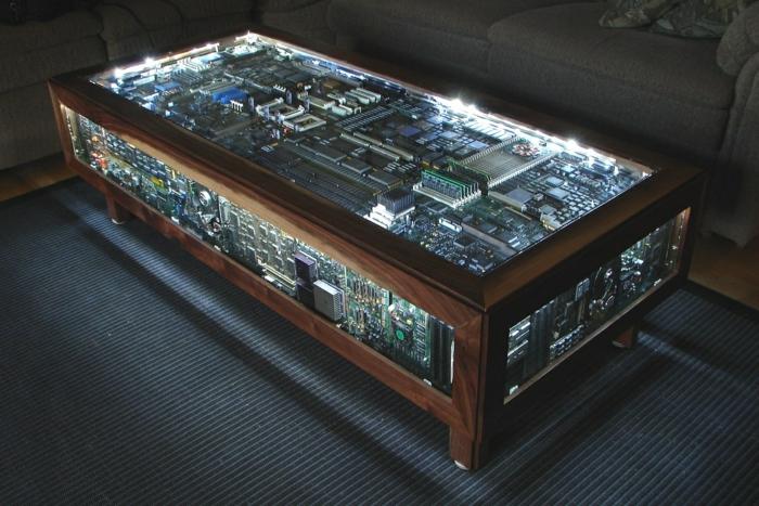 computadoras circuitos conceptos luces