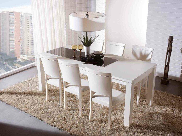 conjunto mesa sillas de comedor