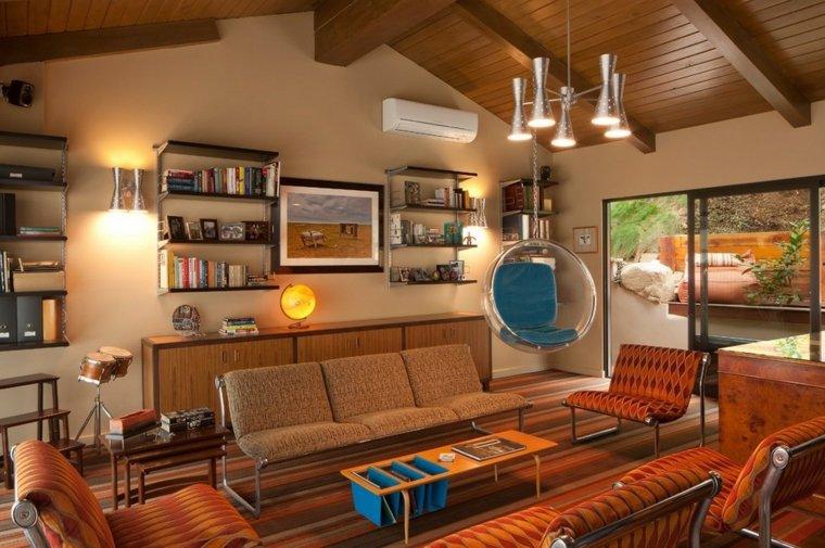 conjunto muebles diseño vintage